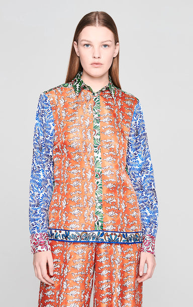 Silk Printed Blouse - ESCADA