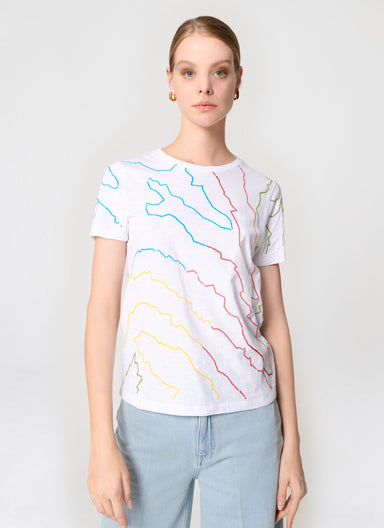 Embroidered T-shirt - ESCADA
