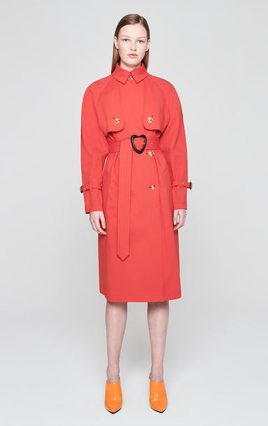 ESCADA Cotton Blend Trench Coat