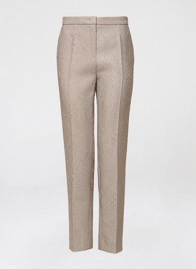Luxurious cloqué pant