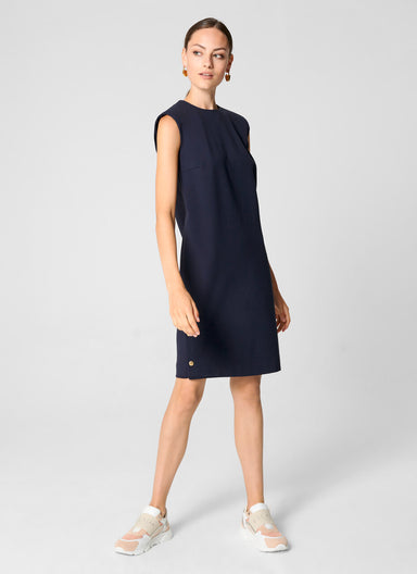 Milano Jersey Side Button Dress