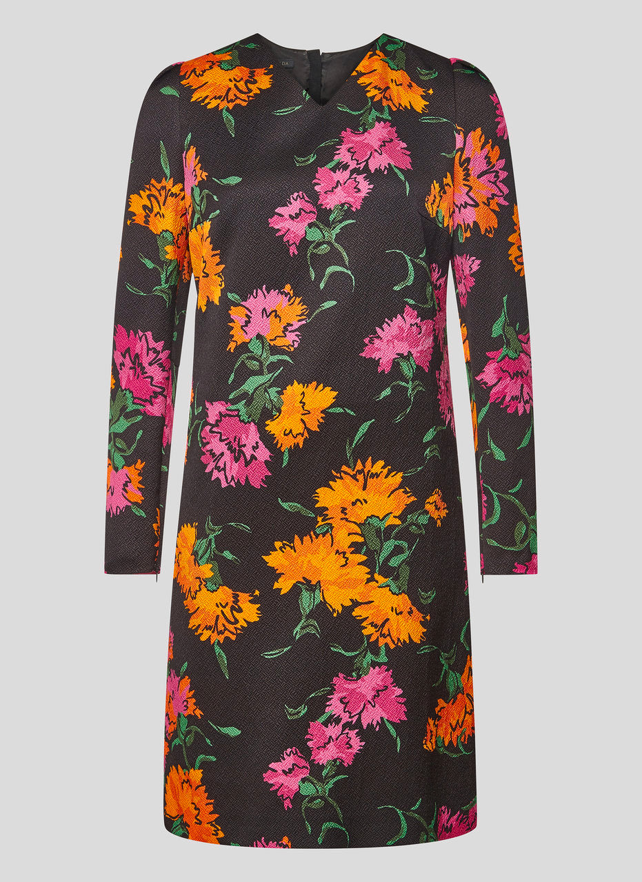 Floral Jacquard Dress - ESCADA