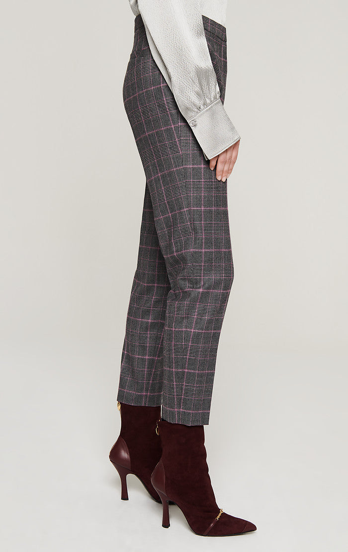 ESCADA Wool Stretch Check Pants