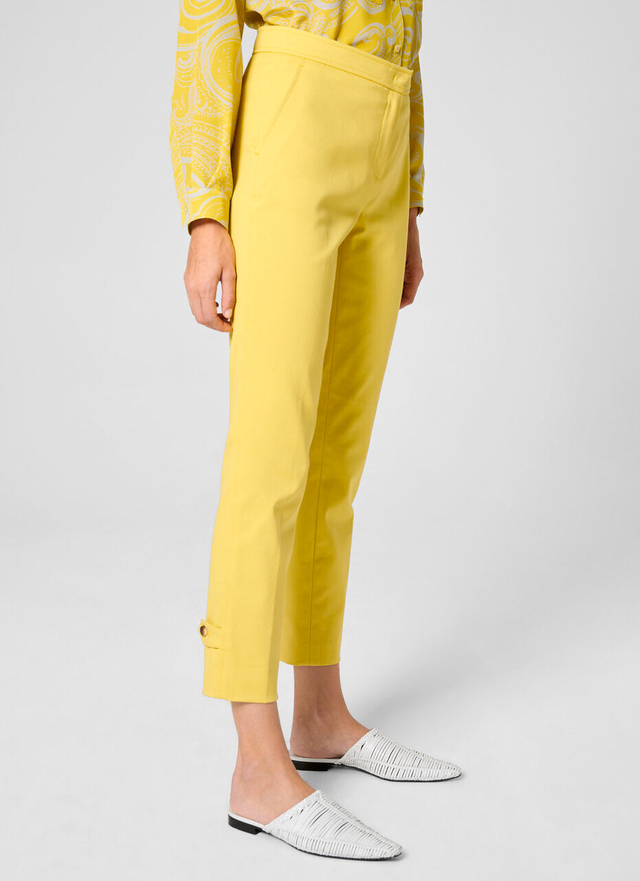 ESCADA Cotton Gabardine Ankle Pants