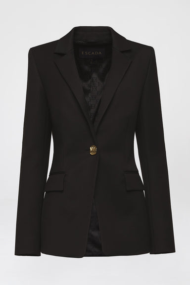 Feminine wool mix blazer - ESCADA