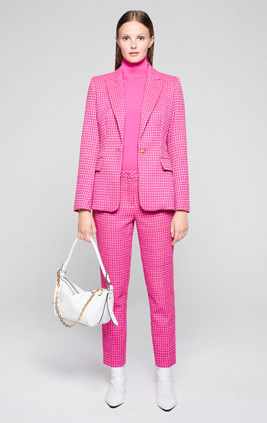 ESCADA Houndstooth Check Pants