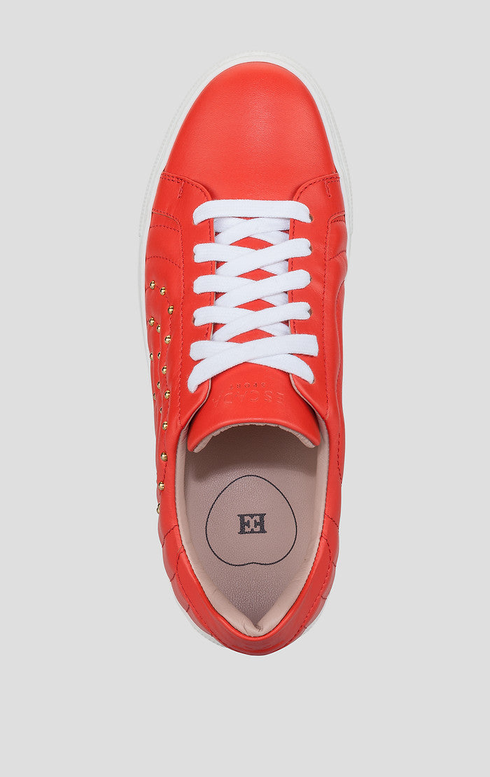 ESCADA Studded Leather Sneakers