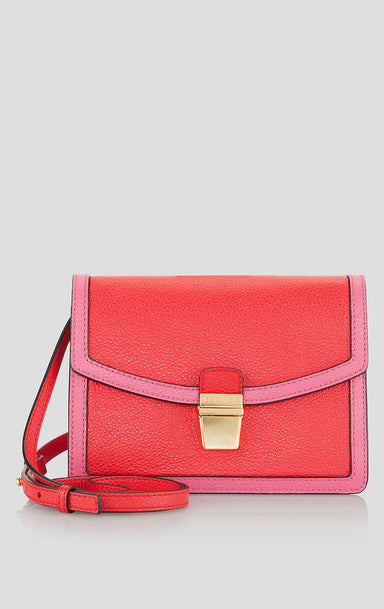 Two-Tone Leather Shoulder Bag - ESCADA