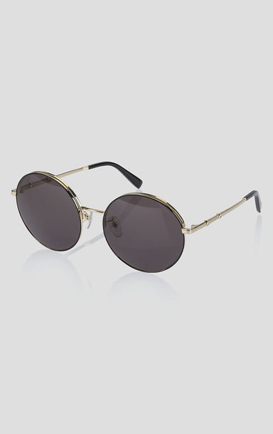 Round Crystal-Detail Sunglasses - ESCADA