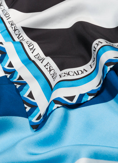 Graphic printed Silk scarf - ESCADA