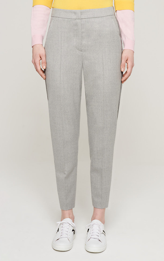 Wool Stretch Side Stripe Pants - ESCADA