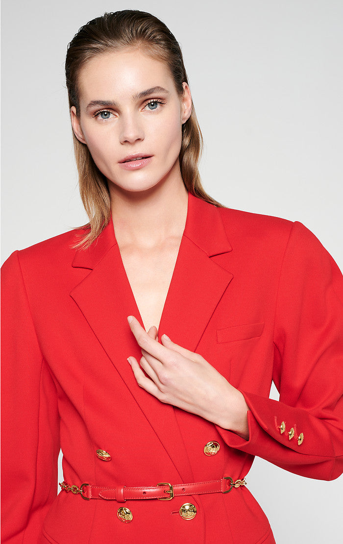 ESCADA Jersey Blazer Dress