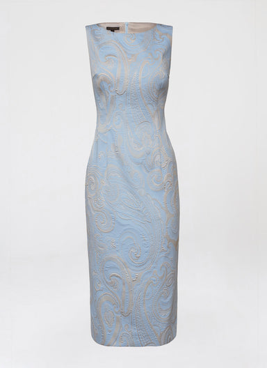 ESCADA Paisley jacquard dress