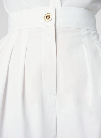 ESCADA Cotton Stretch Flared Shorts
