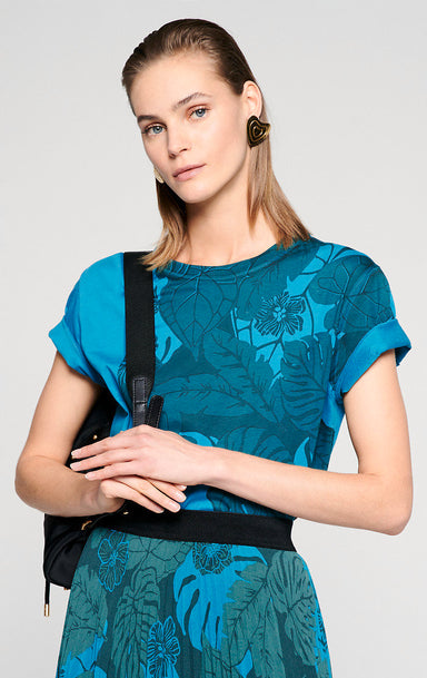 ESCADA Floral Placement T-shirt
