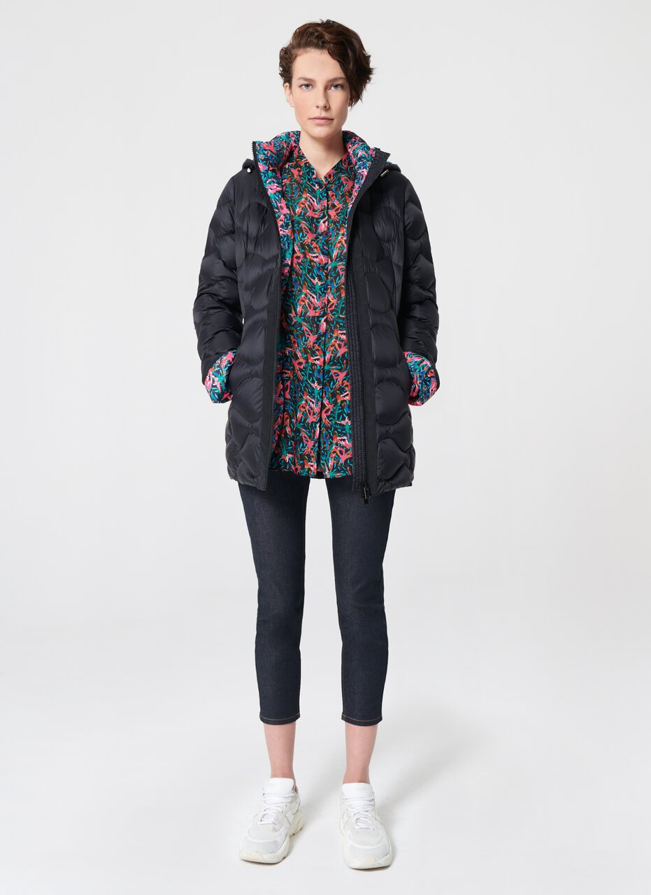 Bird Lined Down Jacket - ESCADA