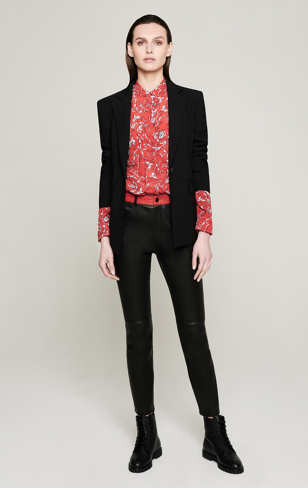 ESCADA Stretch-Leather Pants