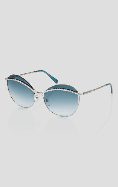 Oversized Butterfly Sunglasses - ESCADA