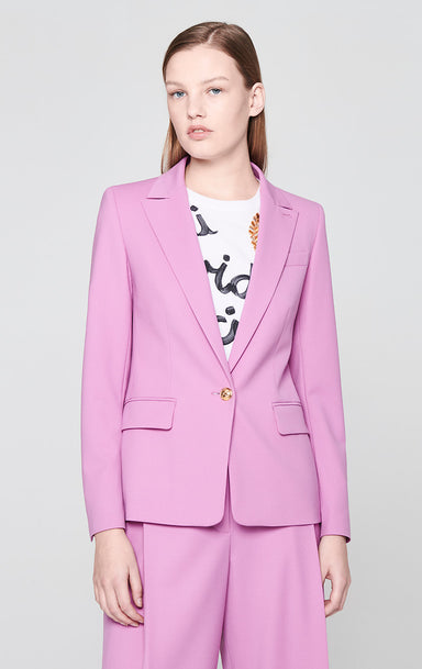 Virgin Wool Stretch Blazer - ESCADA
