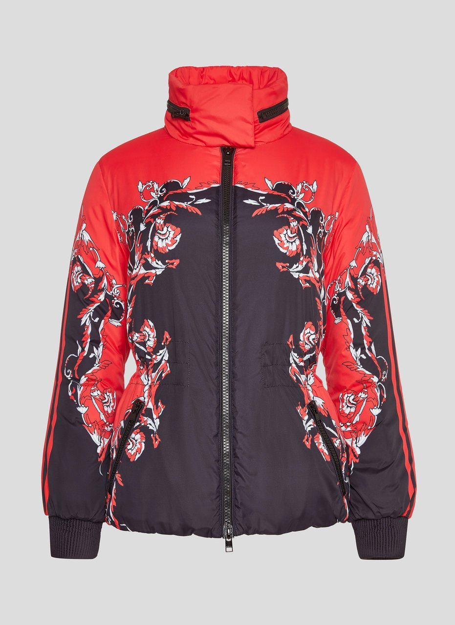 ESCADA Baroque Floral Padded Jacket