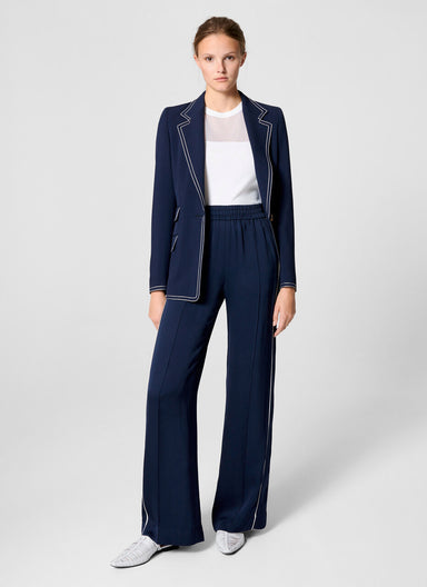 Side Stripe Palazzo Pants - ESCADA