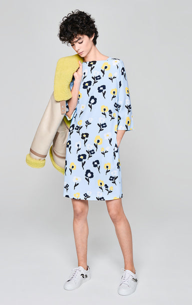 Floral Crepe Dress - ESCADA