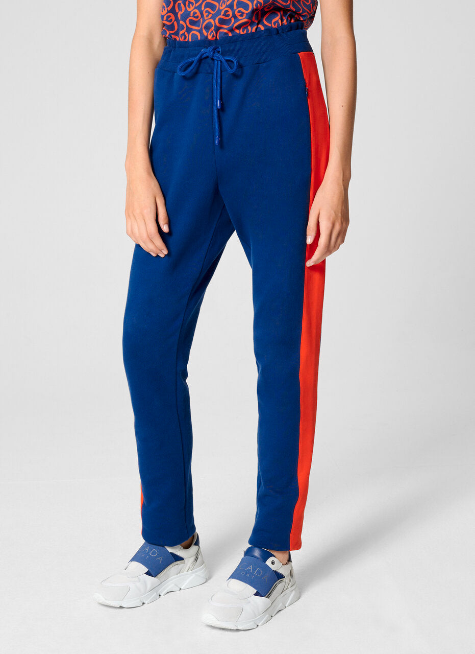 Two-Tone Jersey Pants - ESCADA