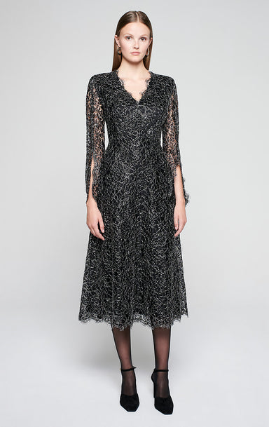 Corded Lace Midi Dress - ESCADA
