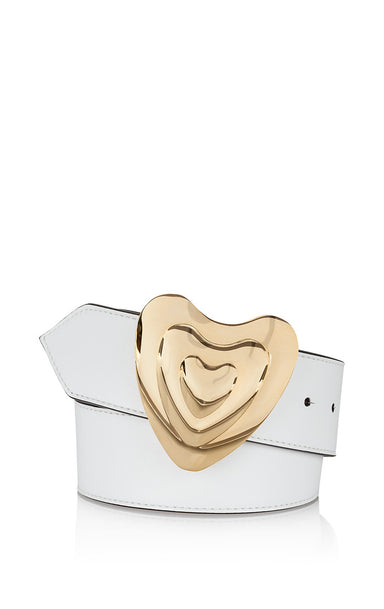 Leather Heart Belt - ESCADA