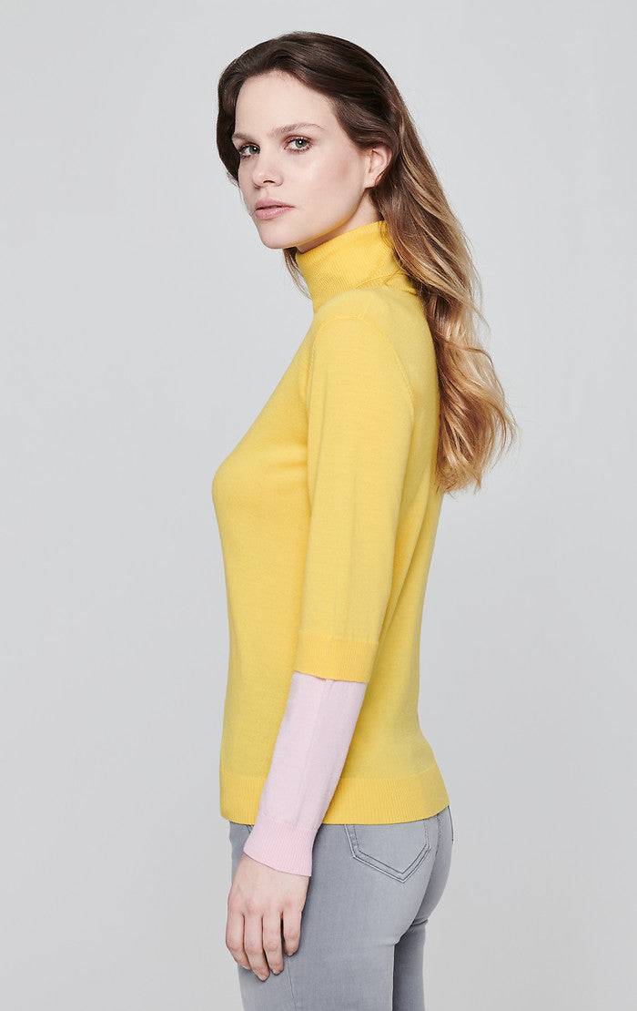 Virgin Wool Turtleneck Sweater