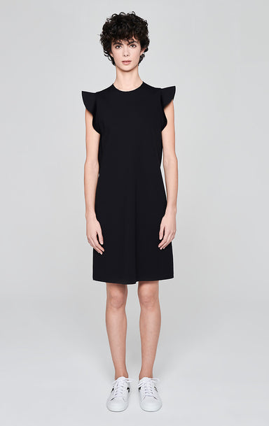 Jersey Ruffle Trim Dress - ESCADA