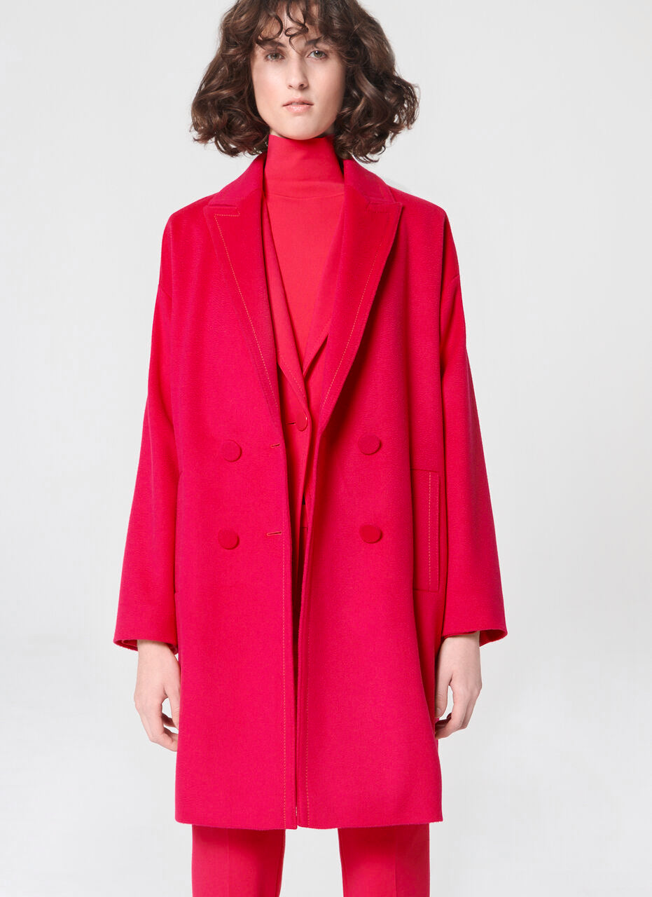 ESCADA Cocooning wool coat