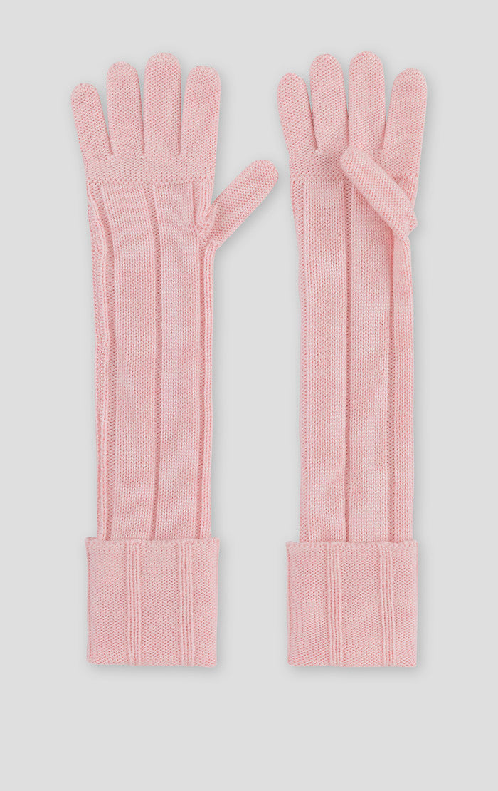 Wool Knit Gloves - ESCADA