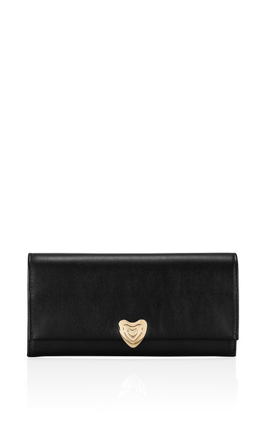Leather Heart Purse - ESCADA
