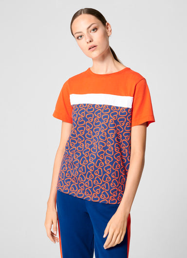 ESCADA Color Block Logo T-shirt