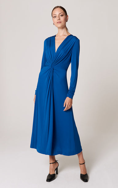 Jersey Knotted Midi Dress - ESCADA