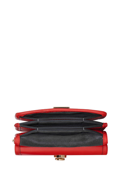 ESCADA Residency Collection - Small Leather and Suede Shoulder Bag