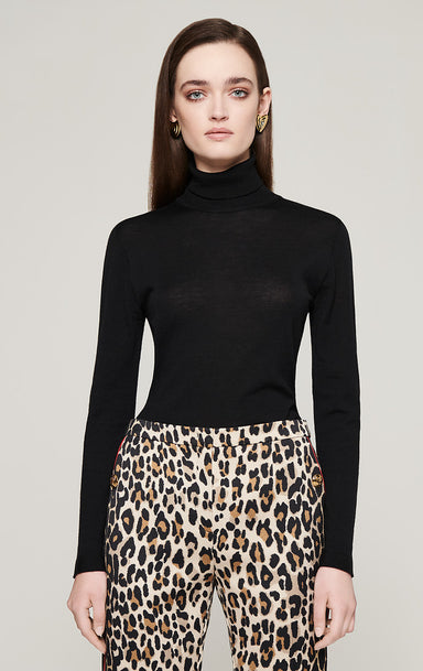 ESCADA Virgin Wool Turtleneck Sweater