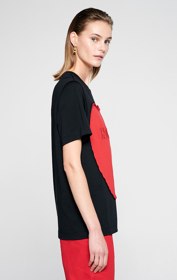 ESCADA Embroidered Heart T-shirt