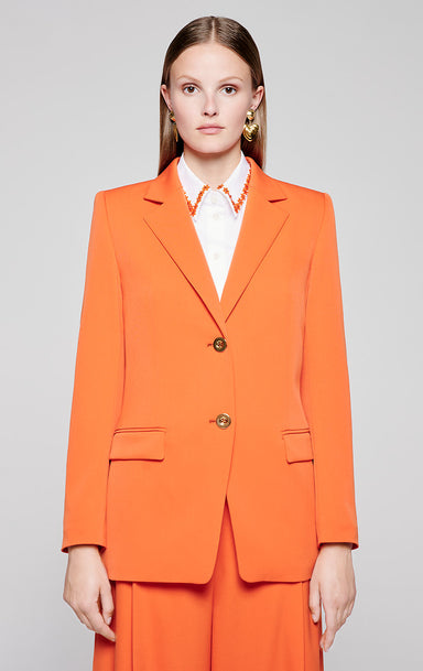 Wool Stretch Belted Blazer - ESCADA