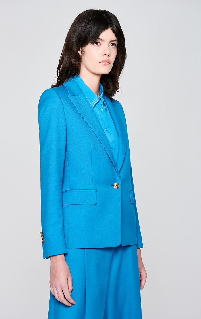 ESCADA Cotton Wool Stretch Blazer