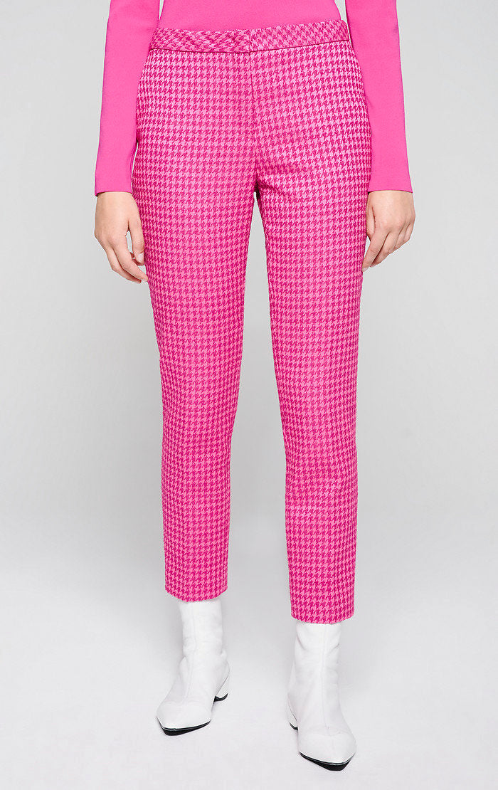 Houndstooth Check Pants - ESCADA