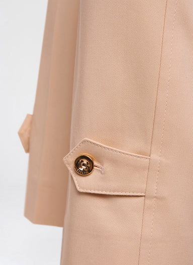 Cotton Gabardine Ankle Pants