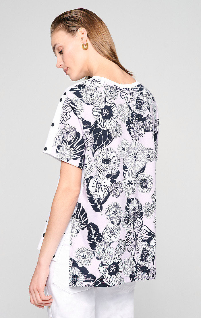 Pattern Mix T-shirt - ESCADA