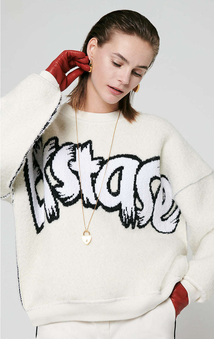 Residency Collection - Graffiti Logo Sweater