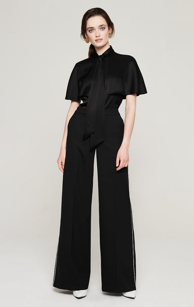 Wool Wide Leg Pants - ESCADA