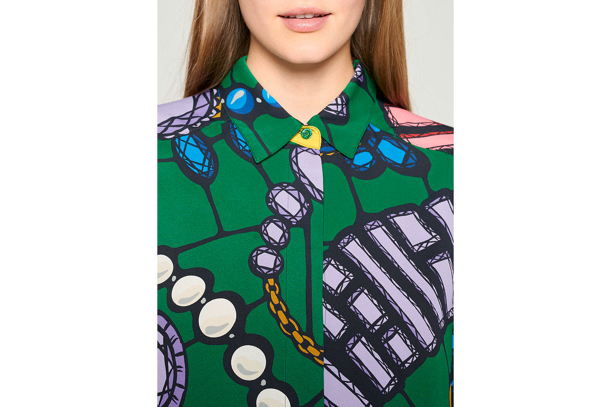 Residency Collection - Jewel Printed Blouse - ESCADA