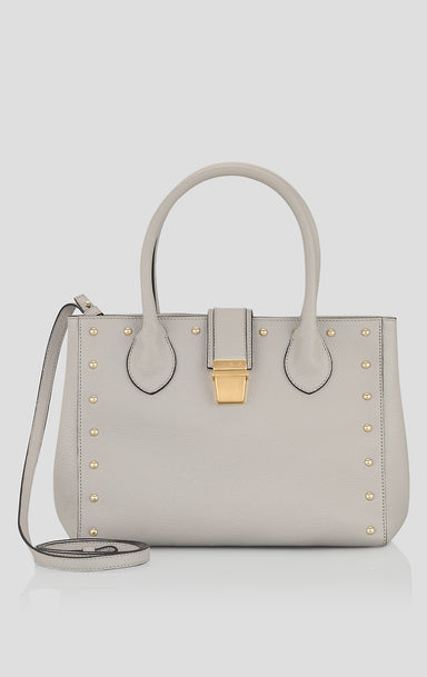 ESCADA Studded Leather Handbag
