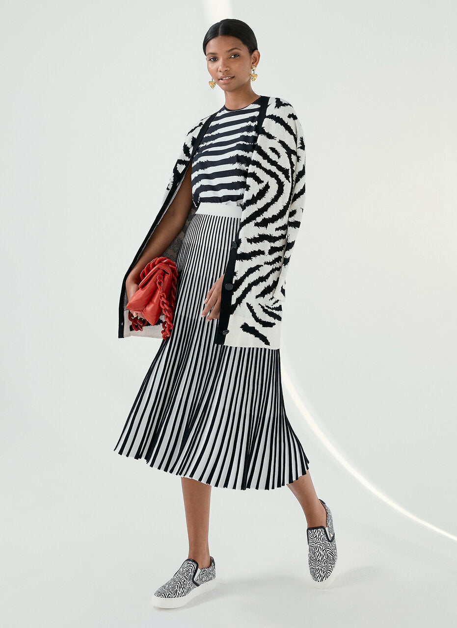 ESCADA Zebra Stripe T-shirt