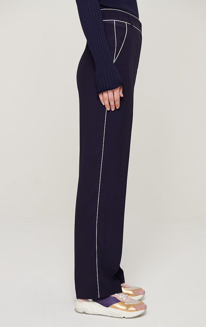 ESCADA Crepe Satin Straight Pants